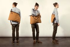 Image of Tanner Goods x Tellason Roll Tote