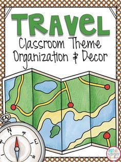 This 153 page editable bundle includes everything you need to decorate and organize a travel themed classroom! Includes:Ideas for a travel theme classroomDesk Name Tags*Student Binder and Folder CoversClass Schedule Cards*Behavior Chart*Small Supply Labels*Math Manipulative Labels*Large Supply Labels*Table Team LabelsCenter Labels*MonthsDays of the WeekCalendar NumbersClass Job Cards*Teacher Binder Covers with Spines*Class Rules*a 24 page PowerPoint that allows you to edit the text on the…