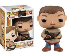 The Walking Dead / Daryl Dixon w/ Poncho!! - pop vinyl figure
