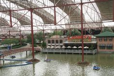 """union station,st.louis. This is an awesome use of an old train station. Indoor mall with outdoor feel! Absolute """"must go"""" in St Louis"""