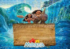 Uau! Veja o que temos para Convite Moana e Maui