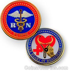 "The Nurse Geocoin focuses on nurses who are the heart of healthcare. This classic designed coin is plated in 24k polished gold and epoxy coated for added protection. Send this on your geocaching missions to give good health wherever it may go.      Measures 1.75"" diameter     Plated in 24k gold     Epoxy coated for a long life     Trackable on Geocaching.com     Has its own icon that will show on your profile when you log a discovery $10"