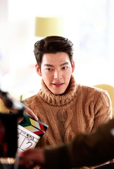 Kim Woo Bin sizzles with Go Ara in stills for new Domino's commercial Kim Woo Bin, Korean Star, Korean Men, Asian Men, Joo Sang Wook, Handsome Korean Actors, Uncontrollably Fond, Man Crush Everyday, Kdrama Actors