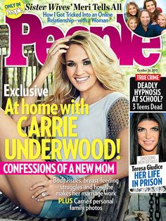 Carrie Underwood PEOPLE magazine cover