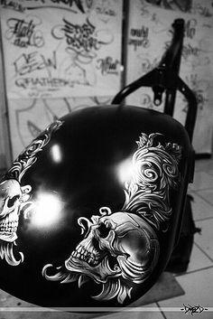 motorcycle bike gas fuel tank drozd - inspiracja malowania