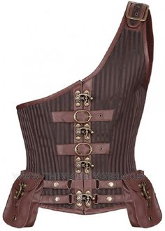 Remis en stock / Back in stock: Steampunk Men's Corset in Brocade with Faux Leather pockets Prix: # Corset Steampunk, Steampunk Outfits, Style Steampunk, Steampunk Cosplay, Victorian Steampunk, Steampunk Clothing, Steampunk Fashion, Gothic, Steampunk Halloween