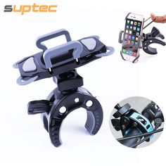 Bicycle Phone Holder Universal 360 Rotatable Bike Motorcycle Handlebar Mount for iPhone 5 5s 6 6s 7 plus Samsung S5 S6 S7 GPS LG