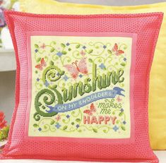 Sunshine Makes Me Happy - Cross Stitch & Needlework magazine, July 2014