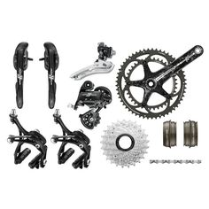 Campagnolo Athena Black Carbon Groupset | Groupsets - Road Bike | Merlin Cycles