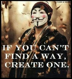 RT Together we can create a way to STOP. Guy Fawkes, This Is Your Life, Think, Together We Can, Revolutionaries, Wake Up, Life Lessons, Inspirational Quotes, Motivational