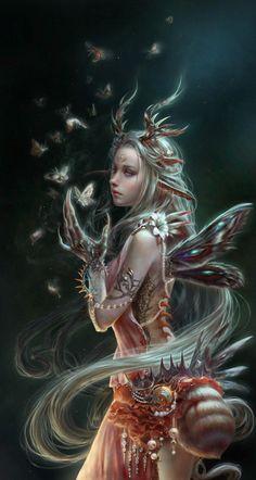 Inspiring Fantasy Illustrations