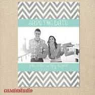mint yellow grey save the date - Google Search