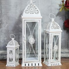 Details about set of 5 tea light holders metal lanterns candle set of 3 metal and glass garden indoor and outdoor candle lanterns home decor workwithnaturefo