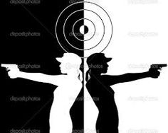 action hero silhouettes - Google Search
