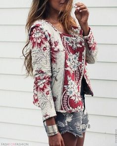 Love this textured jacket by Isabel Marant