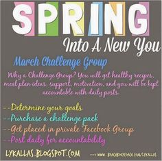 March Challenge Group Idea