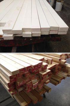 Geschaafd hout | Gegrond of onbehandeld in alle #houtsoorten | Houtindustrie Veteka