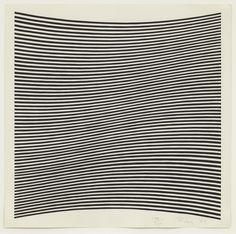 Bridget Riley, 'Untitled (La Lune en Rodage – Carlo Belloli),' 1965, Alan Cristea Gallery
