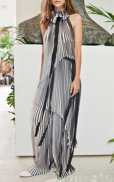 Pleated Top by CARLA ZAMPATTI for Preorder on Moda Operandi