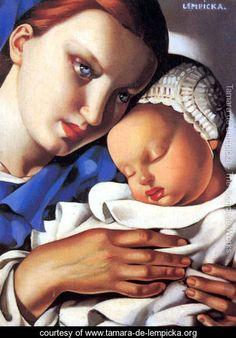 Mother and Child, 1931, Tamara de Lempicka