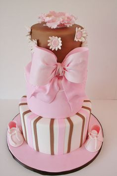 LATES BABY SHOWER CAKES | Baby-Shower-Cakes-New-Jersey-Baby-Booties-Custom-Cake.jpg