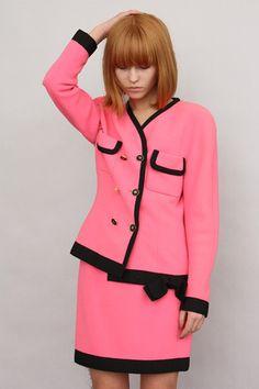 Chanel suit.