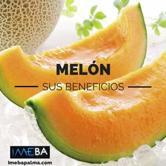 ¿Conoces los beneficios y propiedades del melón?¿Conoces los beneficios del melón?  El #melón es una fruta de la temporada estival con enormes beneficios para nuestros organismo.  - Actúa como antiinflamatorio natural. - Contiene potasio - Mejora la salud pulmonar y los problemas renales - Alto contenido en ácido fólico - Actúa como diurético ayudando en la eliminación de líquidos. - Ayuda a #adelgazar combinado con una dieta adecuada.  @IMEBAInfo