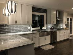 Kitchen Remodel by Fagin Construction, Northbrook, IL Budget Kitchen Remodel, Kitchen On A Budget, Home Decor Kitchen, New Kitchen, Home Kitchens, Kitchen Design, Galley Kitchens, Kitchen White, Kitchen Flooring