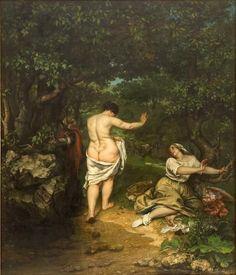 Sztuka II połowy XIX wieku określona była głównie przez zasadę dokładnego oddawania rzeczywistości. Na rzecz tego postulatu zrezygnowano z wszelkich sposobów upiększania świata, starając się ukazać jego pełny, realny kształt. Dzieła zaczęły dotykać bardziej przyziemnej tematyki. Przedstawiały prozaiczne czynności z codziennego życia, analizowały ludzkie sposoby postrzegania świata, koncentrowały się na scenach z życia zbiorowości oraz podejmowały próbę uchwycenia piękna.
