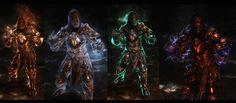 skyrim armor purple - Google Search