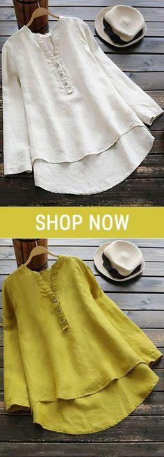 Moda de blusas elegantes para gorditas 61 Ideas for 2019 Fashion Wear, Curvy Fashion, Blouse Styles, Blouse Designs, Kurti Patterns, Blouse Models, Pli, Blouse Vintage, Sewing Clothes