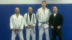 Congrats to Joe on his purple belt and Scott on his blue belt promotion in BJJ!  #pamabjj