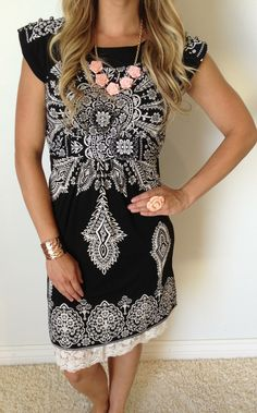 International Affairs Dress is new and hot! Make it SexyModest with a skirt extender added!! http://www.sexymodest.com/collections/featured/products/international-affairs-dress #sexymodestboutique