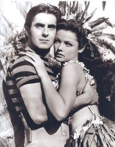 Tyrone Power and Gene Tierney in Son of Fury