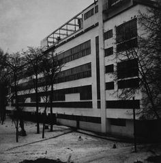 """Narkomfin Apartment Building, 25 Novinskii Boulevard, Moscow. Architects: Moisei Ginzburg and Ignatii Milinis. Built in 1929 to house the employees of the Narodnyo Kommissariat Finansov (Commissariat of Finance), Narkomfin was intended to transform the everyday life of the """"ideal socialist citizen"""" and to become a standard for the whole of Russia."""