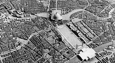 Historisches Modell, Abschnitt Nordbahnhof bis Große Halle