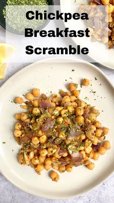 This chickpea breakfast scramble makes an easy, satisfying, and delicious breakfast. Prep a couple ingredients ahead of time for quick cooking or make a large batch and warm up a portion each morning. #breakfast #veganbreakfastrecipe #chickpearecipes #meatlessmonday #meatless #meatlessmeals #nomeat #vegan #glutenfree #oilfree #sugarfree #plantbased #oilfreevegan #sugarfreevegan #glutenfreevegan #wfpb #forksoverknives #catholic #catholiclife #theplantbasedcatholic Sugar Free Vegan, Vegan Gluten Free, Salt Free Recipes, Chickpea Recipes, Plant Based Eating, Vegan Breakfast Recipes, Meatless Monday, Chana Masala, Vegetables