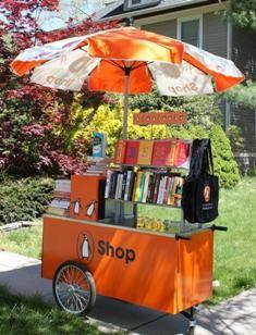 Penguin book cart