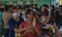 Fear turns to fury in Myanmar as children shot by military | Global development | The Guardian Armed Forces, Combat Training, The Guardian, World War Ii, Red Carpet, Unintended Consequences, China Russia, Army, Military Coup