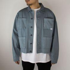 Washed Work Jacket Cotton - eptm #eptm #eptmusa #shopredcar7 #mensblog #fashionblogger #dtla #madeinusa #madeinlosangeles