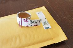 How to make your own fabric tape.  http://blog.craftzine.com/archive/2012/05/how-to_fabric_tape_1.html?utm_source=feedburner_medium=feed_campaign=Feed%3A+craftzine+%28CRAFT%29_content=FaceBook