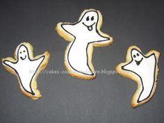 Cookie Geister für Halloween Halloween Cookies, Cookie Cutters, Bricolage Halloween, Ghosts, Ideas