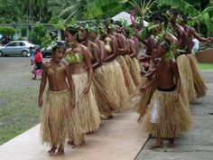 Fedreated States Of Micronesia cultural day