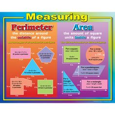 Measuring Perimeter And Area Poster