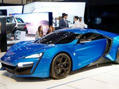W Motor Lykan Hypersport 2014--my oh my look at that sexiness