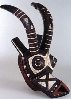 Bwa Koan Antelope Mask, Burkina Faso Africa Art, West Africa, African Museum, Afro, Art Premier, Masks Art, African Masks, Sewing Projects For Beginners, Tribal Art