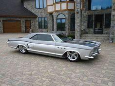 1963 Buick Rivera #mustangvintagecars