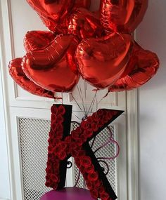 Pin by Tatiana Marshall on Valentines Day❤️ Heart Decorations, Valentines Day Decorations, Balloon Decorations, Flower Box Gift, Flower Boxes, Birthday Goals, Diy Birthday, Cute Gifts, Diy Gifts