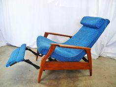 Just-In 4-7-13   Modern furniture - Selig IB Kofod Larsen Chairs, recliner, Clintique English Chair, Danish bar stools, sideboard