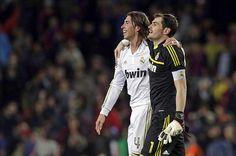 Sergio Ramos & Iker Casillas - Barcelona vs Real Madrid (21 April, 2012)